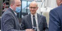Сергей Кириенко и гости Youth RIGF посетили 5G-лабораторию Сколтеха