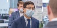 Министр образования и науки Казахстана посетил 5G-лабораторию Сколтеха