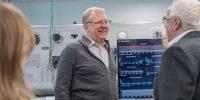 Алексей Кудрин посетил 5G-лабораторию Сколтеха