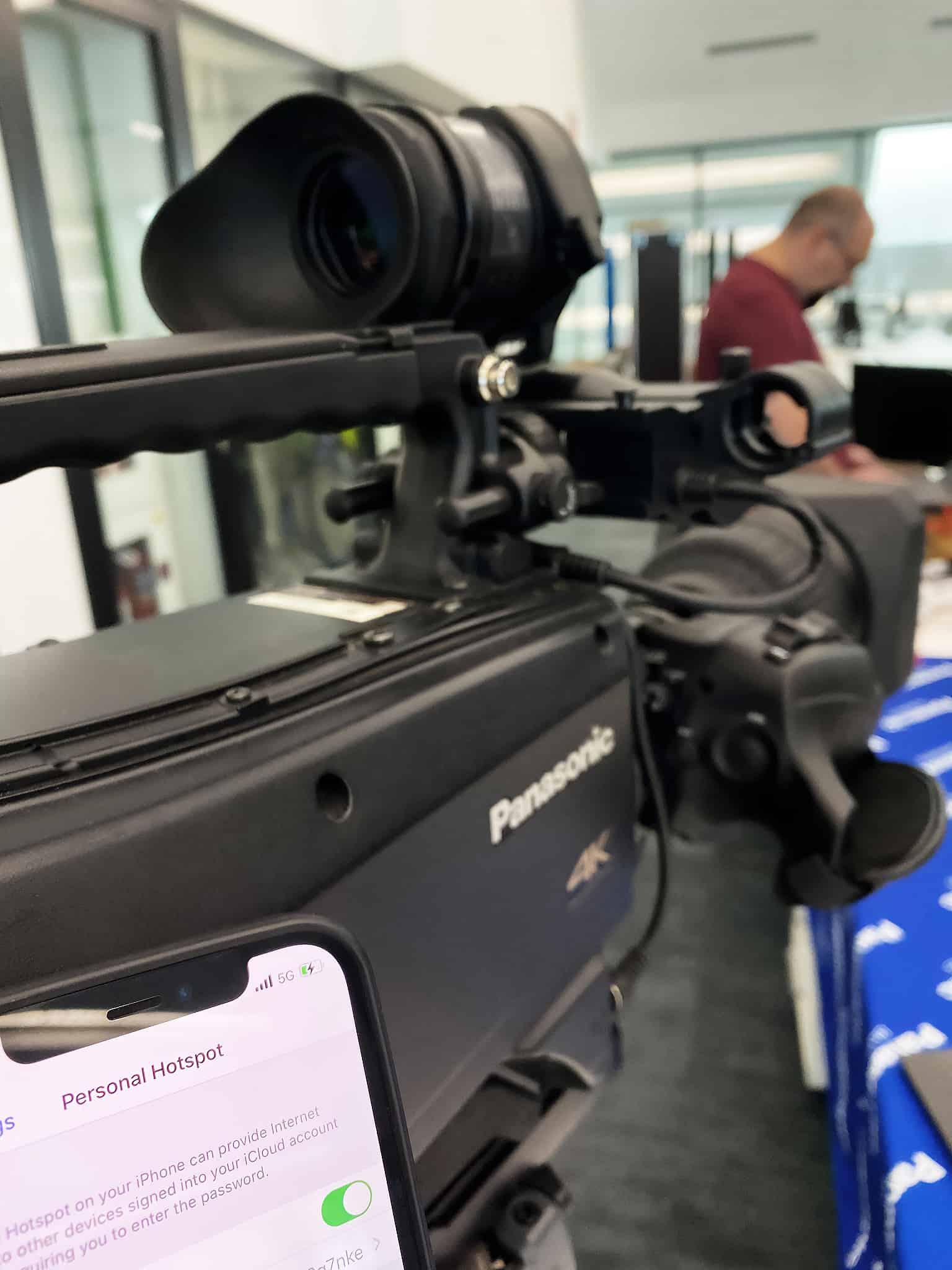 Сколтех и Panasonic успешно протестировали видеооборудование в сети 5G