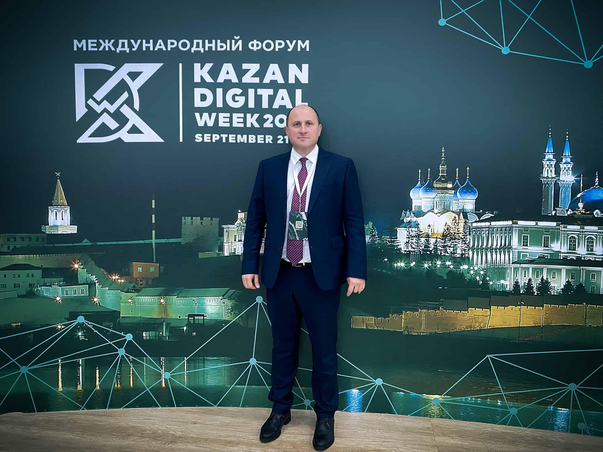 Руководитель Центра компетенций НТИ на базе Сколтеха Дмитрий Лаконцев посетил сегодня «Международный форум Kazan Digital Week 2021». В составе делегации института он рассказал о созданной в Сколтехе Экосистеме 5G и…