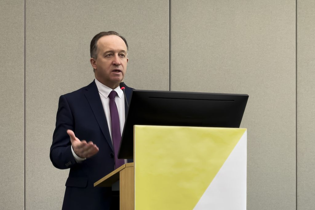 Виталий Шуб, глава Лидирующего исследовательского центра по технологиям 5G